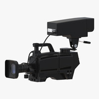 3d tv studio camera generic
