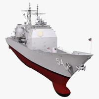 3d ticonderoga class cruiser antietam