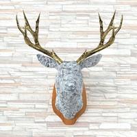 3d taxidermy deer