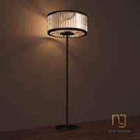 restoration hardware light 3d max