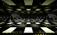 3D Illusion Geometric Background