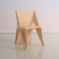 Modern Wood Chair Furniture