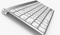 3d model apple keyboard