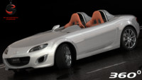 mazda mx-5 superlight 2010 3d model