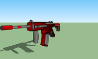 black m27 assault rifle 3ds