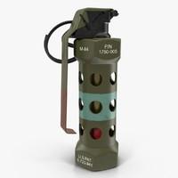 grenade m-84 3d max