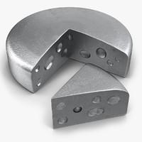 3d model cheese iron