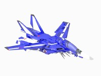 3d vf macross 132-a model