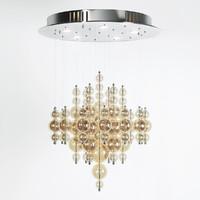 chandelier small bubbles cash 3d obj