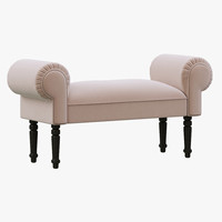 hpdecor calm ottoman 3d model