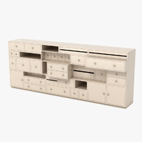moooi drawer 3d model