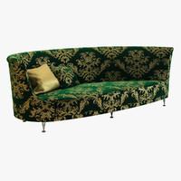 newtone sofa moroso 3d model