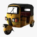 Rickshaw 3D models