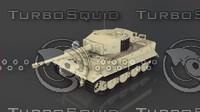 panzerkampfwagen vi tiger ausf 3d model