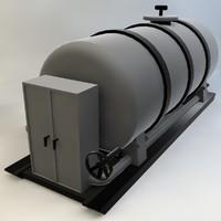 fuel tank 3d model