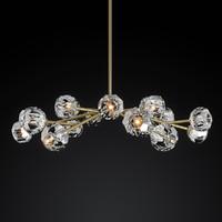 chandelier boule cristal max