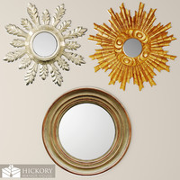 3d hickory manor house mirror