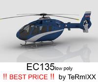 3d heli ec-135 police model