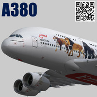 3d emirates wildlife a6-eei