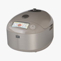 photoreal rice cooker 3ds