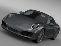 porsche 911 carrera coupe 3d max