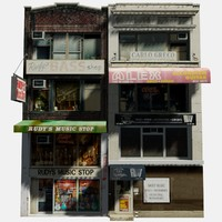 3d model shop store