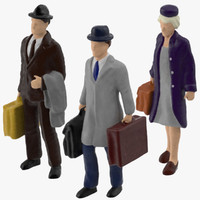 3d miniatures travelers