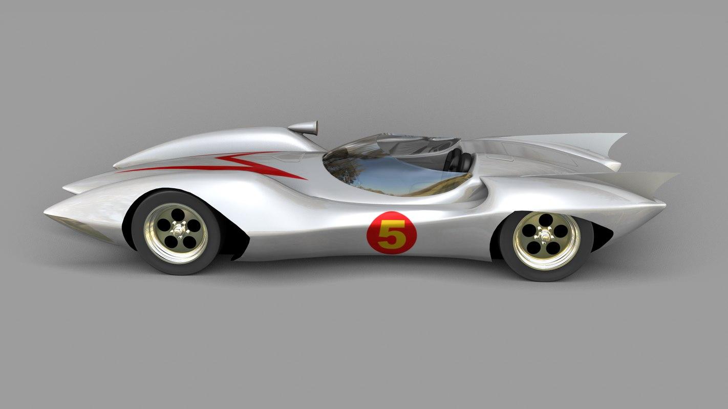 speed racer mach 5 3d x