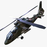 kawasaki oh-1 ninja helicopter 3d model