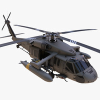 sikorsky uh-60 black hawk 3d max