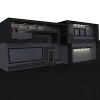 3d model house home design