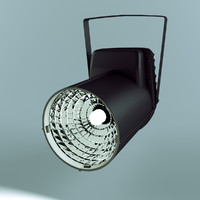spotlight projector light 3d model