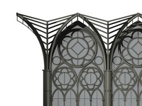 gothic cathedral 3d model