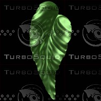 3d leaf