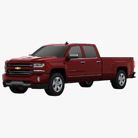 3d 3ds chevrolet silverado 1500 pickup