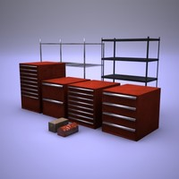 Garage tool boxes