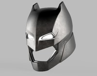 3d model batman armor helmet