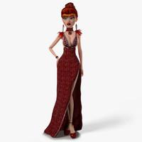 Katherina Rigged Character