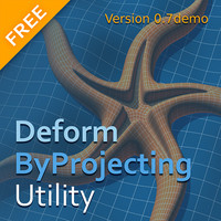 DeformByProjecting Utility DEMO