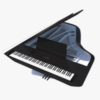 3d grand piano pleyel peugeot