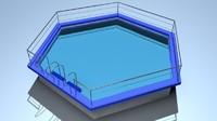 3d model games water