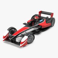 max formula e race car