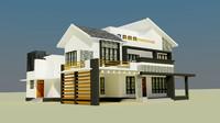 modern house exterior -2 max