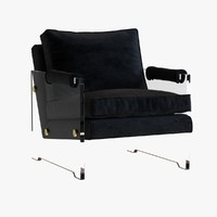 chair kazan 3d max