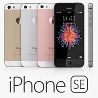 3d model iphone se
