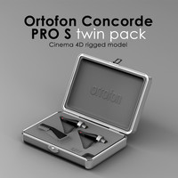 ortofon cartridge dj 3d model