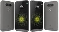 lg g5 black 3d model