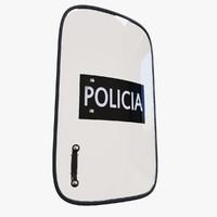 c4d shield police