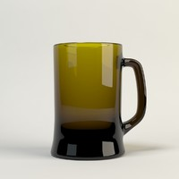 realistic beer glass max