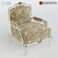 zanaboni armchair 3d model